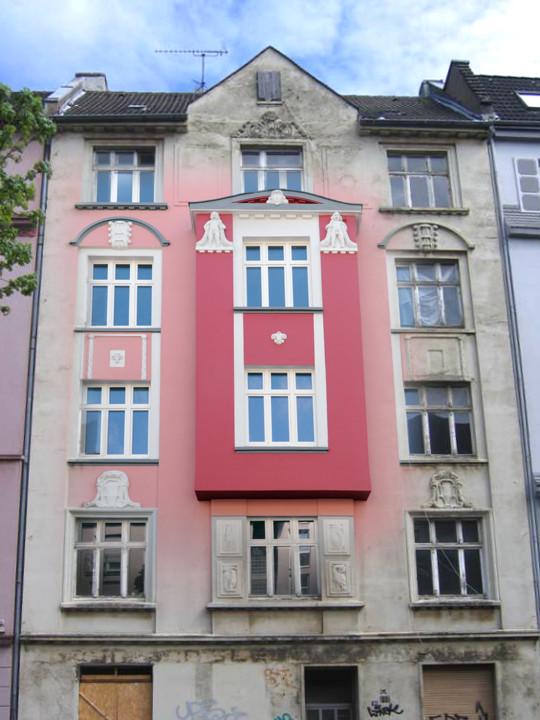 Gebäude Brunnenstraße vorher-nachher