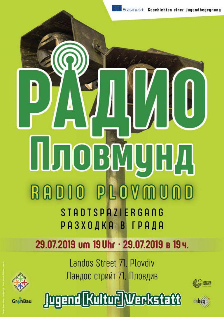 Plakatmotiv zum Projekt Radio Plovmund
