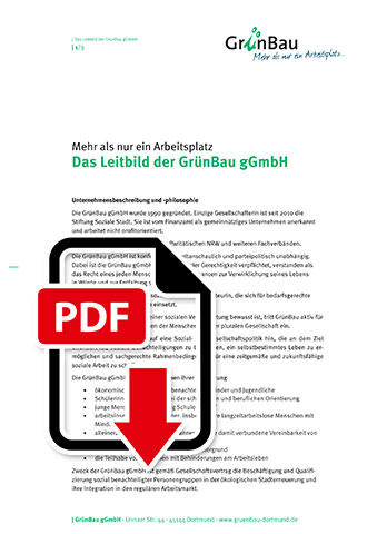 Titelbild Leitbild-PDF