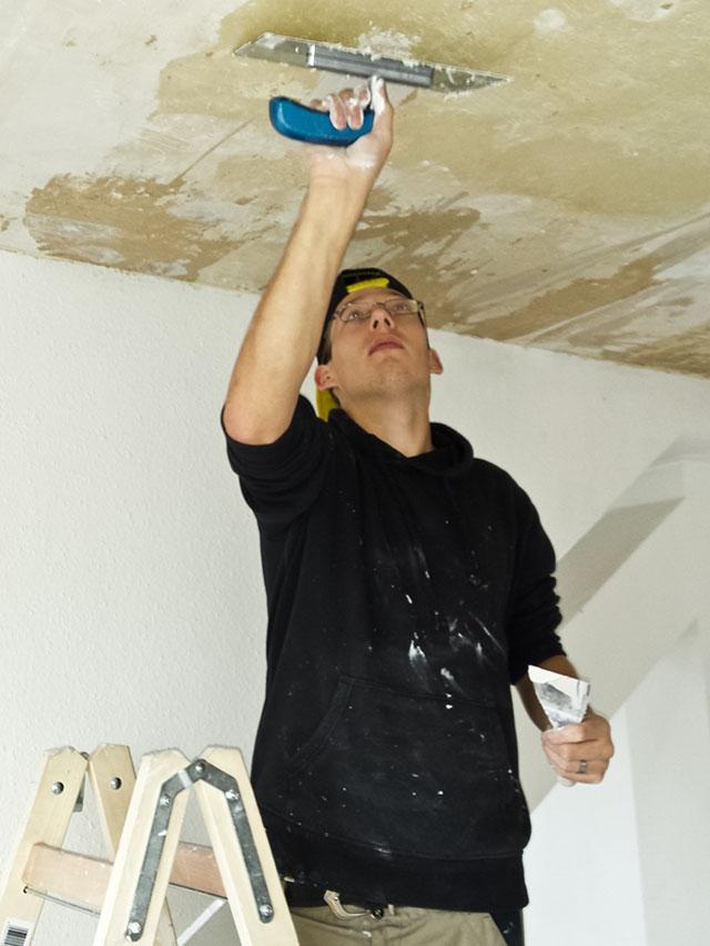 Arbeit im Bereich Bau